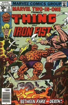 marvel two in one covers | Marvel Two-In-One #25 – Cover | Jack Kirby Comics Weblog