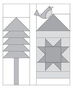 Moda Be My Neighbor Free Block Quilt Pattern