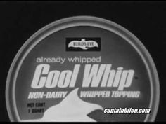 1967 WHIPPED TOPPING TELEVISION COMMERCIAL