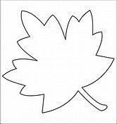 Resultado de imagen de Fall Leaf Patterns To Print