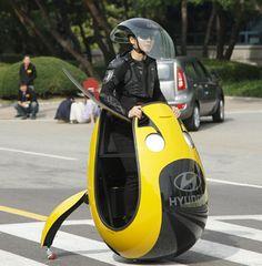 Future mobility. E4U - Hyundai Motor huh just get a motorcycle