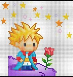 Point de croix Hama Beads, Cross Stitch For Kids, Cross Stitch Baby, Cross Stitch Charts, Cross Stitch Patterns, Hand Embroidery, Embroidery Patterns, Cross Stitch Embroidery, Arte Pixel