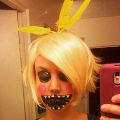 FNAF Toy Chica Makeup