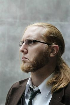 Fullmetal Alchemist - Van Hohenheim.  Dude, yes.  You are so doing this right.