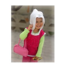 Knitted baby girl hooded sweater sequined  by KnitterPrincess, $25.00