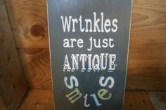 Rustic SignWrinkles are just antique by ChantelMartinDesigns