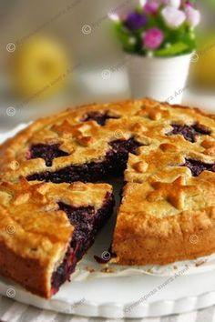 Вы умеете печь ягодные пироги? Я никогда не пекла - не умела! Теперь научилась!!!