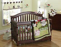 Fisher Price Farm Friends Crib Bedding