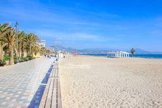 Playa de San Juan in Alicante | Beach Guide Most Beautiful Beaches, Beautiful Hotels, Alicante, San Juan Beach, Folding Beach Chair, Famous Beaches, Water Quality, Beach Bars, Spain