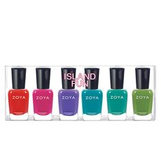 Zoya Island Fun Nail Polish Collection Sampler from BeautyOfASite | Beauty Products