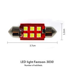 Festoon LED 36MM Car Interior Reading Lamp Canbus 3030 SMD Map Lights Email:carinajiehui@outlook.com Contact Person: Miss Amy