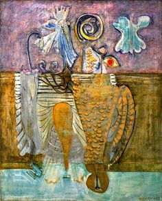 Mark Rothko:   Hierarchical Birds,   1944