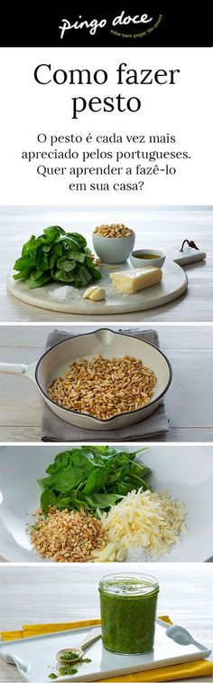Siga o nosso passo-a-passo e saiba como fazer pesto, o ingrediente essencial em pratos italianos, e não só.