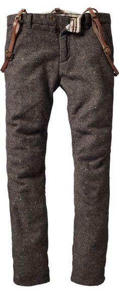 Scotch & Soda trousers - versatile, classic, essential. #menswear -AB: