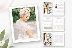 Ad: Wedding Photographer Magazine by By Stephanie Design on Make a great first impression and delight customers with this modern, high-end wedding photography magazine template. Magazine Format, Magazine Template, Print Magazine, Magazine Design, Photography Marketing, Wedding Photography, Photography Brochure, Photography Guide, Wedding Photographer Prices