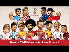 I love football and I really admire the social influence that top football players can profess over a wide range audience. This is the reason why I decided spending some time in a personal project of mascotization for top players in Russia 2018 Worldcup. No deadlines, no instructions, no restrictions. Ronaldo Football, Fifa Football, Football Love, Nba Players, Football Players, Neymar, Anchor Drawings, Comic Book Drawing, Marvel Cartoons
