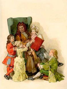 Помните эти цветные картинки к сказкам Пушкина и Шарля Перро? В... - Сергѣй Лагутинъ— я.ру