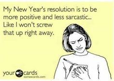 New Year's resolution jokes
