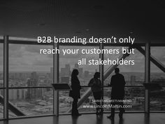 In B2B branding, brands does not only reach your customers but all stakeholders – investors, employees, partners, suppliers, competitors, regulators, or members of your local community.   MARKETING MEETS MANKIND www.LincolnMartin.com  #Branding #Marketing #Advertising  #LincolnMartin #Dubai #ContentStrategy #ContentMarketing #SocialMedia #InboundMarketing #OutboundMarketing #B2Bmarketing #Marcom #Communications #PublicRelations #PR #StrategicMarketing #onlinemarketing #digitalmarketing…