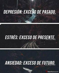 Depresión, estrés, ansiedad. - Malainfluencia