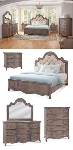 The Genoa Tufted-Upholstered Bed is constructed for value and designed to be a loved element in your bedroom. If you give credit to the place where you start your day and the place where you end it, you'll be pleased every day by the Genoa Bed.This collection can be found at Great American Home Store in the Memphis TN, Southaven MS, area.  #shopgahs #ohmygahs #bedroom #bedroomfurniture #bed #nightstand #dresser #chest #traditionalstyle #upholsteredbed #masterbedroom #guestroom #elegantbedroom