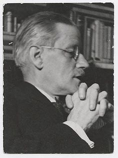 James Joyce in Sylvia Beach's book shop, 1938 by Gisele Freund.