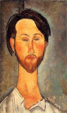 Leopold Zborowski - Amedeo Modigliani, 1918 http://www.wikipaintings.org/en/amedeo-modigliani/leopold-zborowski-1918#supersized-artistPaintings-189547