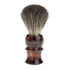 Badger Brush - Edwin Jagger Pure Badger Tortoiseshell Shaving Brush