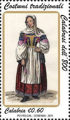 costume tradizionale (francobollo)