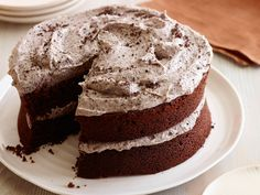 Neely's Cookies and Cream Cake Recipe : Patrick and Gina Neely : Food Network - FoodNetwork.com