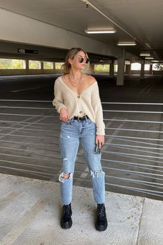Trendy Fall Outfits, Fall Fashion Outfits, Edgy Outfits, Fall Winter Outfits, Cute Casual Outfits, Simple Outfits, Spring Outfits, Winter Fashion, Winter Style