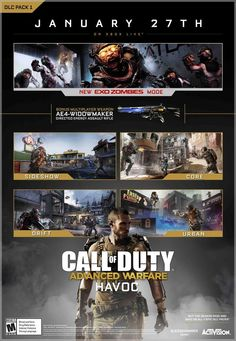 Call of Duty: Advanced Warfare Havoc Gets Extended Trailer, Map Details