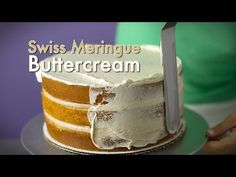 ▶ Swiss Meringue Buttercream Tutorial (how-to) - YouTube