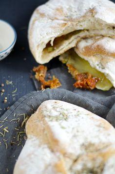Olijf-Mozzarella brood
