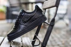 Nike WMNS Air Force 1 Patent Croc - Sneakers Madame