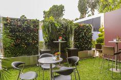 Jardines verticales portátiles
