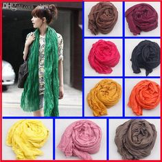 Woolen shawl wrap, cotton shawls and wraps, warm and fashionable tying scarves are provided by zhijin to make your winter warmer, buy some  wholesale-180*50cm new 2015 fashion women scarf candy color soft shawl scarves female cape 20 colors available wj1!