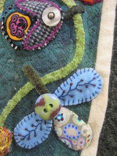 Button embellishment from a Sue Spargo workshop.