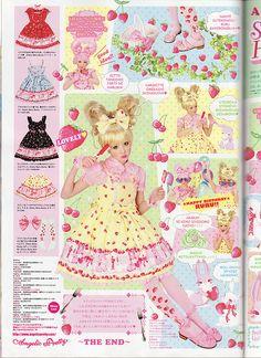 Angelic Pretty Cherry Berry Bunny Kera Ad p2 by Nospheritu, via Flickr