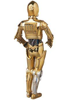Medicom - MAFEX - Star Wars - C-3PO and R2-D2