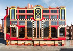 Freddy Mamani Silvestre designs houses in El Alto, the world's highest city, inspired by Aymara traditions and the Transformer movies.