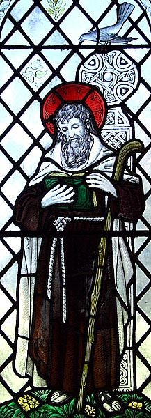 St. Brynach pray for us and Spring.  Feast day April 7.