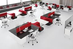 Public Office Landscape - Sistema de mobiliarios para oficinas - Herman Miller