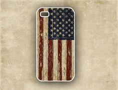 Iphone cover  Case for Iphone  USA flag vintage by avintagerealm, $16.99