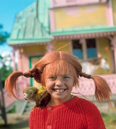 Pippi pippi Longstocking, how I love my funny name Coaching, Little Britain, Beautiful Braids, Marketing Quotes, I Can Do It, Princesas Disney, Growth Mindset, Freckles, Childhood Memories