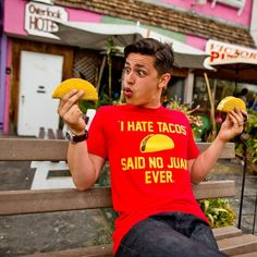 I Hate Tacos T-Shirt | redditgifts