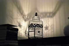Lampada gabbia