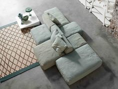 Sectional upholstered sofa PEANUT Peanut Collection by Bonaldo | design Mauro Lipparini
