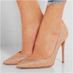 Shoespie Shining Pointed Toe Stiletto Heels