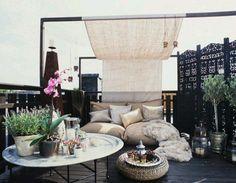 Ultra relaxing roof terrace...